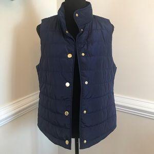 NWT MICHAEL Michael Kors Puffer Vest Blue